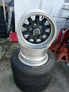 Vintage Western Superlite Wheels Like Minilite Ford Or Chevy Bolt Pattern