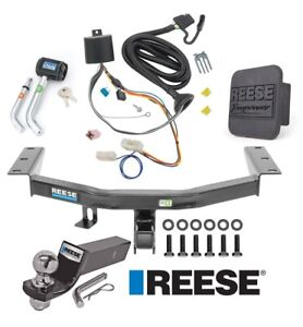 Reese Trailer Tow Hitch For 16 20 Honda Pilot Deluxe Wiring 2 Ball And Lock