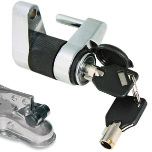Trailer Coupler Latch Lock Boat Rv Tongue Anti Theft Towing Hitch Set Safety Pin