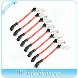 10 2mm Spark Plug Cable Ignition Wire For 2007 2008 Chevrolet Avalanche 5 3l