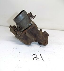 Vintage Carter W 1 Carburetor 1 Bbl For Parts