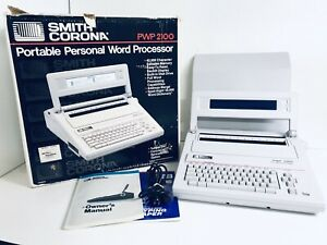 Smith Corona Typewriter Personal Word Proccessor Pwp 2100 Pwp2100
