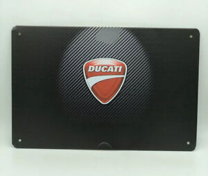 Garage Sign With Ducati Logo