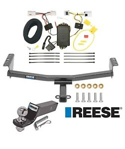Reese Trailer Tow Hitch For 08 19 Nissan Rogue Complete Package Wiring 2 Ball