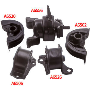 Transmission Engine Motor Mount 5pcs Kit For Honda Civic 1 6l 1996 2000 A6520