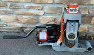 Ridgid 918 Hydraulic Roll Groover 2 6 Rigid 300 1224 Pipe Threader 3