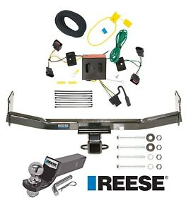 Reese Trailer Tow Hitch For 08 17 Jeep Patriot Complete W Wiring And 2 Ball