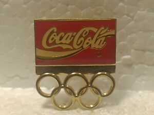 Coca Cola Olympics Emblem Collectible Pin pin3582