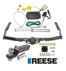 Reese Trailer Tow Hitch For 14 19 Toyota Highlander Complete Wiring And 2 Ball