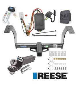 Reese Trailer Tow Hitch For 14 18 Subaru Forester Deluxe Wiring 2 Ball
