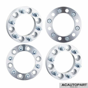 4pcs Fits Toyota Tacoma Wheel Spacers Adapters 6x5 5 12x1 5 All 6 Lug Pickups