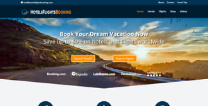 Premium Travel Affiliate Website Hotels Flights Search Free Hosting