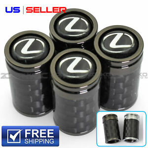Valve Stem Caps Wheel Tire For Lexus 4pc 2 Color Option Us Seller