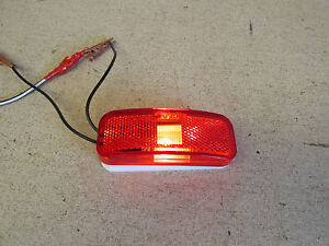 Glo Brite 118a 117r Replacement Rv Trailer Truck Side Marker Light Red Lens