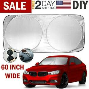 Car Windshield Uv Sun Shade Visor Protector Auto Front Window Shield Blind