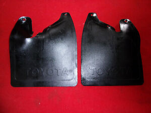 1984 1988 Toyota Pickup 4x4 Mud Flaps Splash Guards Front 84 85 86 87 88 4wd