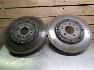 08 15 Mitsubishi Lancer Evolution X Evo X Oem 2 Piece Front Rotors