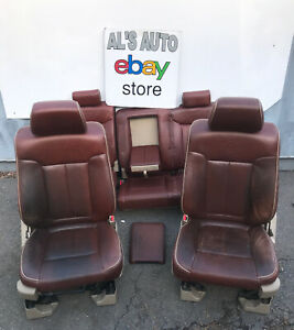 09 14 Ford F150 King Ranch Seats Crew Cab Heated Cooled Power Oem