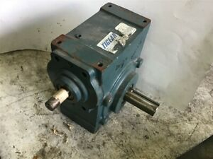 Dodge Tigear 2 35s25r Right Angle Gear Reducer 25 1 Ratio 7 8 In 1 5 Out