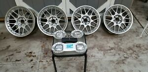 Bbs Rs2 Rsii Staggered Wheels Rims R129 Mercedes Bmw Audi Complete Hardware