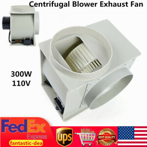 110v Centrifugal Blower Exhaust Fan For Medicine Cabinets Lab Fume Hood 300w Usa
