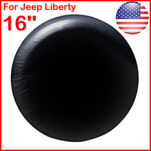 New 16 Spare Wheel Tire Cover Soft Cover 30 31 Fits Jeep Liberty Black Us