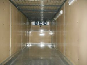 Hemp Drying Trailer Refrigerated Freezer Hanging Rail Field Use 2020 Models