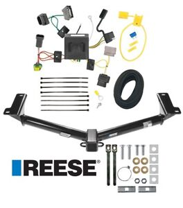 Reese Trailer Tow Hitch For 11 20 Dodge Journey W led Taillights Wiring Harness