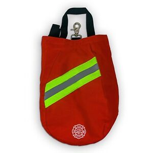 Scba Mask Bag 2020 Deluxe Version Red Firefighter Isi Emt Fire Respirator