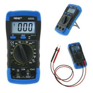 New A830l Aneng Digital Multimeter Lcd Dc Ac Voltage Diode Freguency Multitester