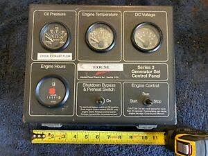 Northern Lights Series 3 Generator Set Control Panel Engine Control