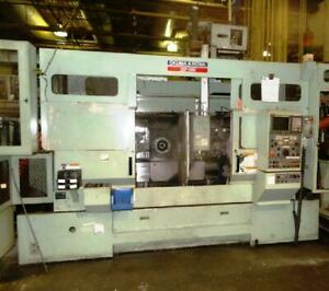 Okuma Howa 2sp 3h Twin Spindle Cnc Lathe Rebuilt 2010 By Master Rebuilders Inc