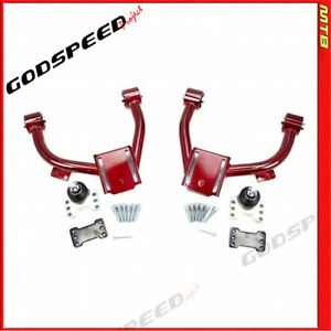 Gsp Ak 172 a Adj Front Upper Camber Arms W ball Joints For Honda Accord 98 02