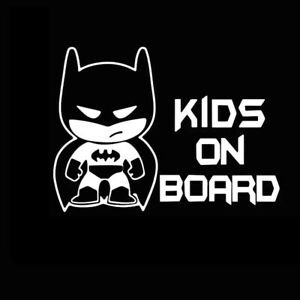 batman Kids On Board Car Suv Truck Jdm Window Bumper Vinyl Decal Sticker