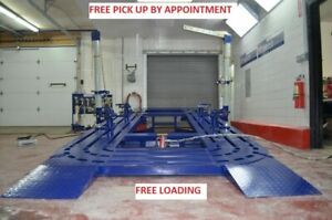 16 16 Feet Auto Body Frame Machine Deal Free Pick Up Free Loading