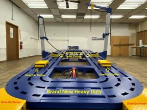 18 18 Feet Auto Body Frame Machine Best Deal Free Pick Up Free Loading