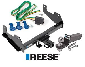 Reese Trailer Tow Hitch For 15 20 Ford F 150 Complete W Wiring And 2 Ball