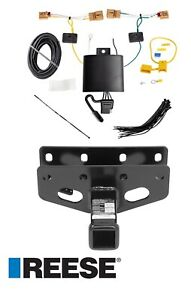 Reese Trailer Tow Hitch For 18 20 Jeep Wrangler Jl W Wiring Harness Kit