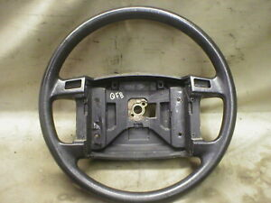 Mustang Steering Wheel Lx Base Model Non Leather W Cruise 90 91 92 93 Black Qfb