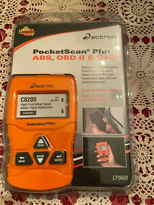 Actron Cp9660 Pocketscan Plus Abs obd Ii can New