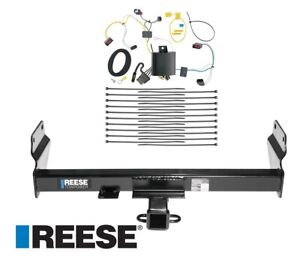 Reese Trailer Tow Hitch For 14 20 Jeep Grand Cherokee W Wiring Harness Kit