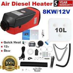 Air Diesel Parking Fuel Heater 12v 8kw Lcd Switch 10l Tank Universal Fit Cars Us