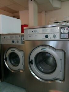 W620 Wascomat 1ph 110v 120v Front Load Commercial Washer Used Stainless Steel