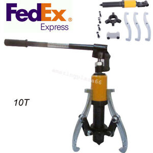 Hydraulic Gear bearing wheel Bearing Puller 3 Reversible Jaws Extractor Ce