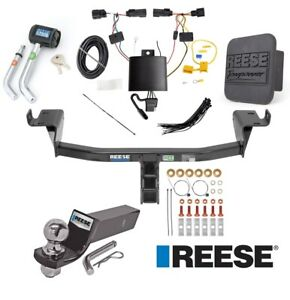 Reese Trailer Tow Hitch For 14 18 Jeep Cherokee Deluxe Wiring 2 Ball And Lock