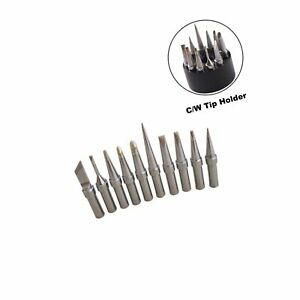 Shinenow Et Replacement Soldering Tips For Weller Wes51 Wesd51 We1010na Pes51