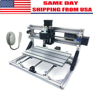 3 Axis Cnc Router Kit 3018 Engraver Injection Molding Material Milling Control