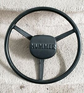 Hummer H1 Humvee Steering Wheel Discontinued Part Hmmwv