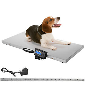 Lcd 1100lbs Veterinary Livestock Scale 43 X 20 5 Sheep Shipping Athlete Scale