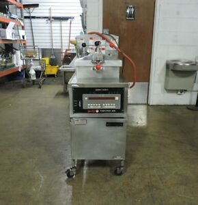 Henny Penny 600c Commercial Gas Pressure Fryer Single Phase 120 Volts